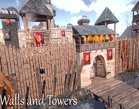 Walls and Towers Update 3D model