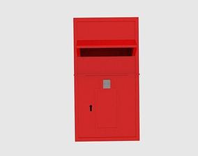 3D model British Post Box