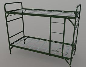 3D asset Bunker Bed