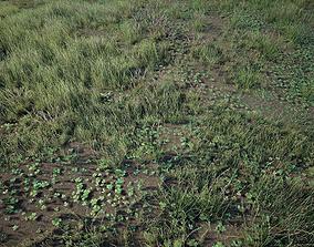 3D asset Grass Pack