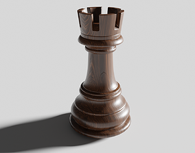 3D model Rook of Chess