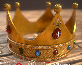 HIE Game Ready Crown D180329 3D asset