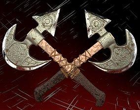 3D model War axe hatchet