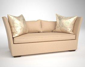3D model Henredon Upholstery MADELINE SHORT SOFA