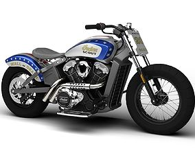 3D Indian Scout Wall of Death 2015