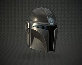 3D asset The Mandalorian helmet