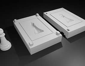 3D print model Mold for Bishop - Chess Game - Form - 2