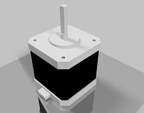 Simple model of Nema 17 stepper motor