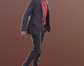 Bruce 10388 - Walking Business Man 3D model