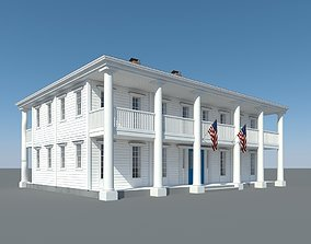 Colonial House 003 3D
