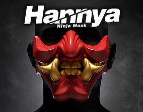 Ninja Hannya Mask 3D print model