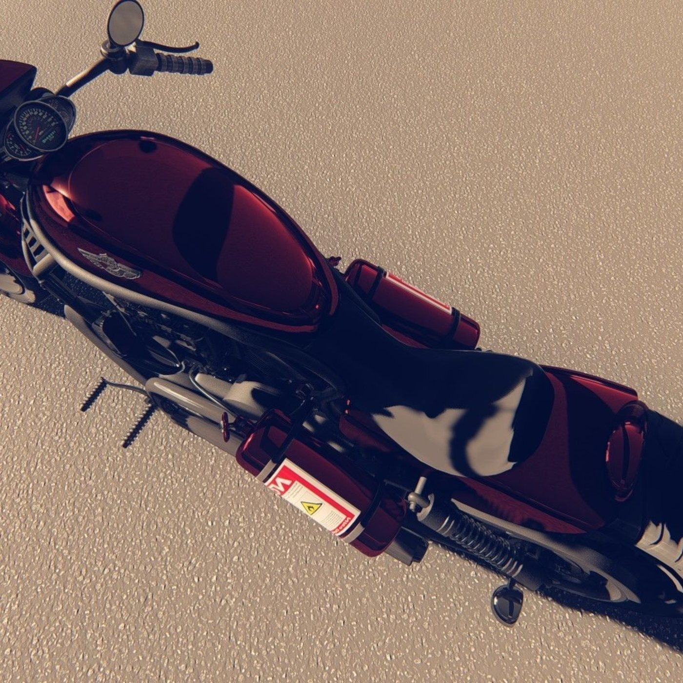 3d motorcycle