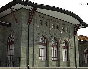 3D model TBBM ILK MECLIS - First Parliament Building of 1