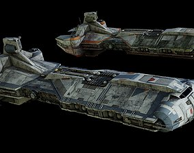 3D model Rebel Command Ship Blue Chief and Phoenix Home