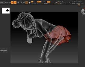 Manga Dirty STL 3D printable model