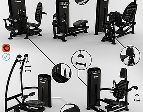 Equipment Gym 3 3D
