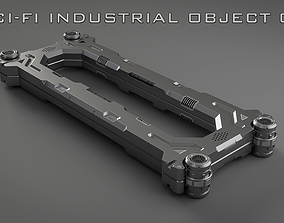 3D Sci-Fi Industrial Object 01