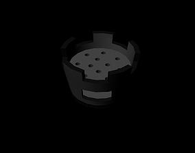 3D asset stove