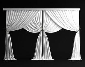 3D model Classical Curtains - 3