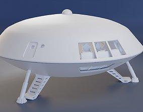 Spaceship jupiter from Lost in space 3D printable model