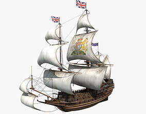 3D sail Ship