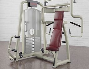 3D model Gym equipment 13 am169