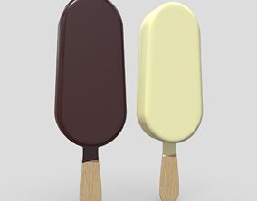 Popsicle 3D asset