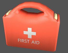 3D model First Aid Kit Plastic Orange