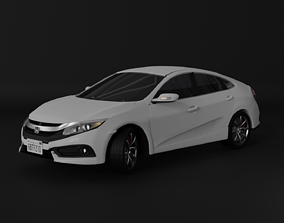 Honda Civic 2016 Coupe 3D model