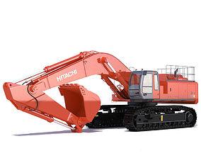 Hitachi Zaxis 800 3D