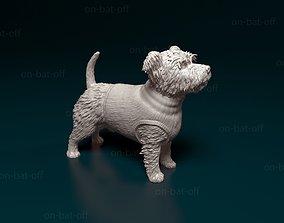 animal West highland white terrier 3D print model