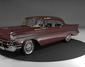 chevrolet bel air 1957 3D model game-ready