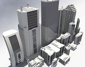 3D 15 Buildings