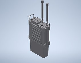 3D print model PRC 117F military radio