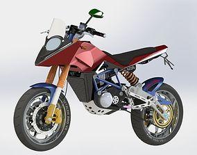 MotorCycle J11 3D