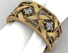 Beautiful ring 3D print model