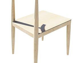 Elbow Chair 3D asset