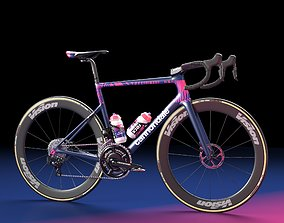 3D model Bicycle Cannondale SuperSix EVO of Education 2