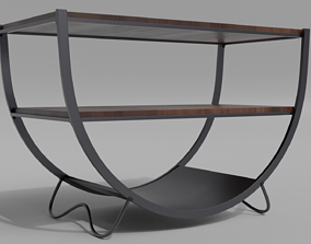 3D model Table - Round table
