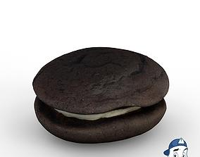 3D model PBR Biscuit Cake