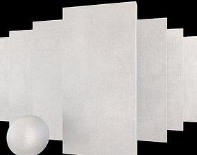 Concrete set Yurtbay Betokent White 3D model