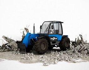 Heavy Gear Construction Tractor 3D