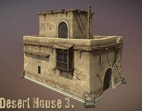Desert House 3 3D model
