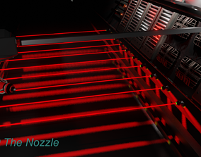 3D model HAVOC SF-100 The Nozzle
