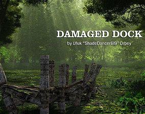 3D Damaged Dock