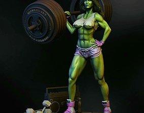She-Hulk STL Model she