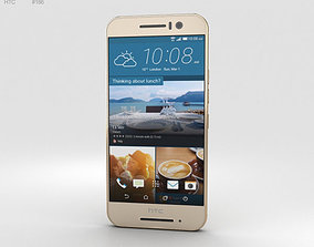 3D HTC One S9 Gold