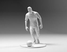 3D printable model Footballer 03 Prepare To Footstrike 03
