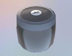 3D asset Realistic PBR Portable Wireless Bluetooth Speaker