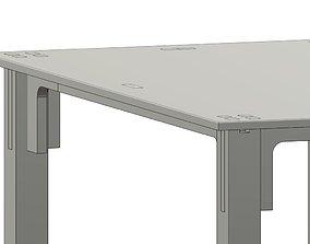 3D Table modern concept